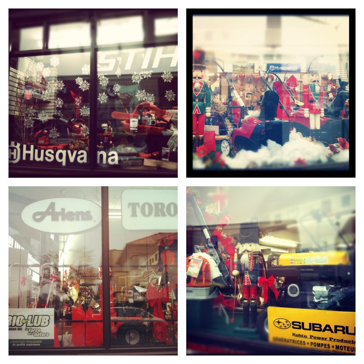 Nos vitrines – Décembre 2012