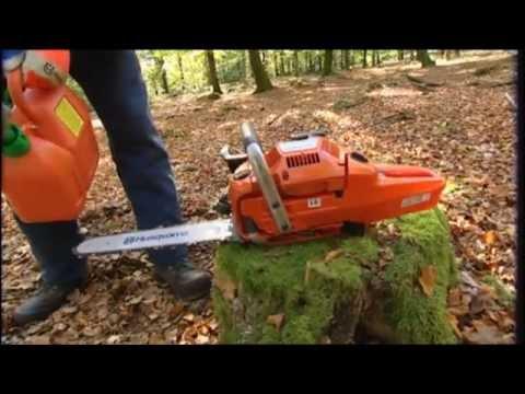 Tutoriel Husqvarna – Comment travailler avec une scie à chaîne