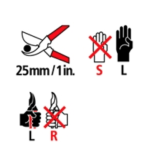 felco signes gaucher left handed signs