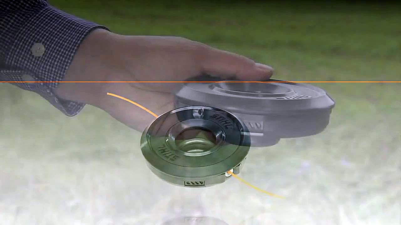 Comment remplacer le fil d'une tête de coupe FIXCUT 25-2 STIHL