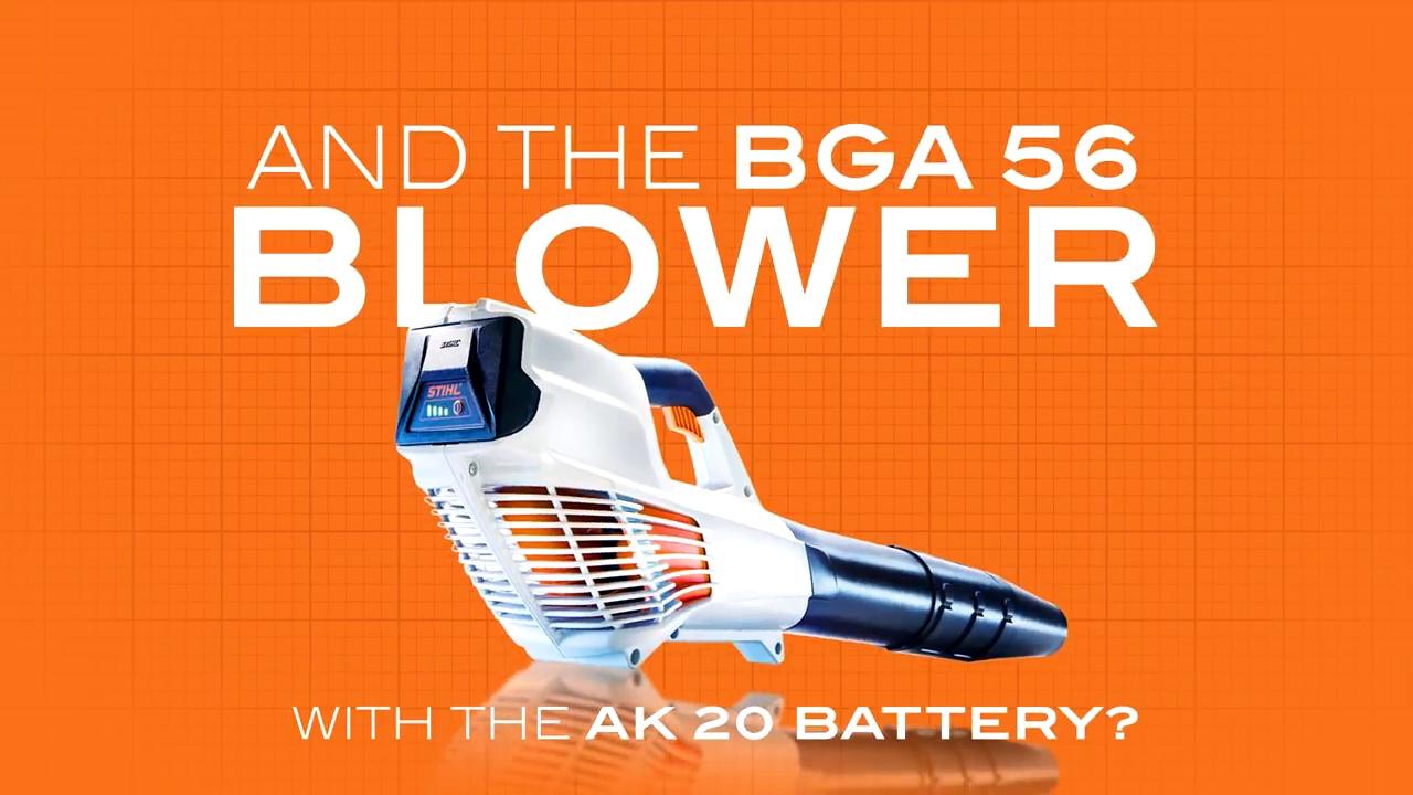 Souffleur à Feuilles BGA 56
