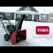 Souffleuse une phase Toro SnowMaster Snowblower