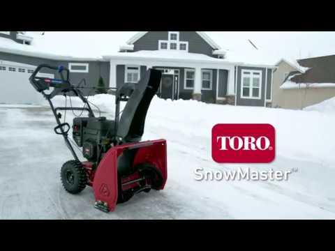 Souffleuse une phase Toro SnowMaster Snowblower