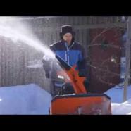 La Nouvelle Souffleuse à neige Husqvarna Série 300
