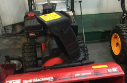 Yard Machines ( C-17 ) 600$