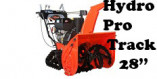 """Souffleuse Ariens Hydro Pro Track 28"""" (926060 / 926078)"""