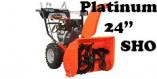 """Souffleuse Ariens Platinum 24"""" SHO (921050)"""