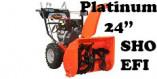 """Souffleuse Ariens Platinum 24"""" SHO EFI (921053)"""