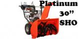 """Souffleuse Ariens Platinum 30"""" SHO (921051)"""