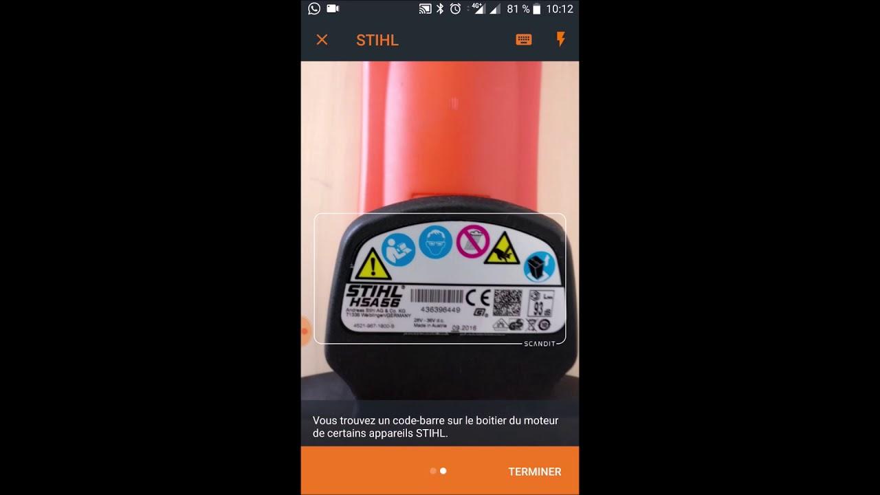 STIHL connected – Comment ajouter un produit sur l'appli STIHL