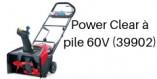 TORO Power Clear à pile 60V (39902)