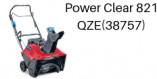 TORO Power Clear 821 QZE (38757)