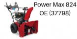 Toro Power Max 824OE (37798 et 37793)