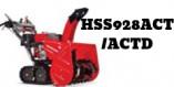 Souffleuses Honda HSS928ACT(D)