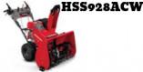 Souffleuse Honda HSS928ACW